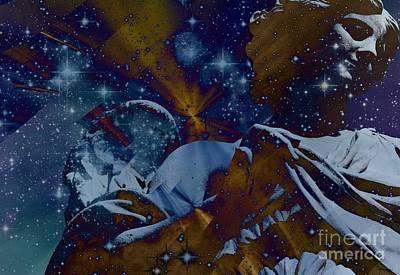 Angelic Guidance 6 Art Print