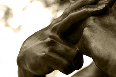Cemetery Photograph - Angelic Hands by TD Charron