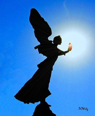 Art Print featuring the photograph Angelic by Patrick Witz
