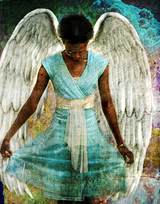 Photograph - Angelic Thanks by Nada Meeks