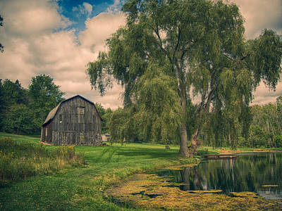 Photograph - Angelica Barn  by Guy Whiteley