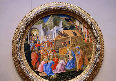 Photograph - Angelico's Filippo's The Adoration Of The Magi by Cora Wandel