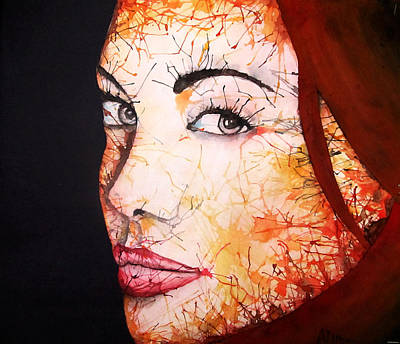Painting - Angelina by Atinderpal Singh
