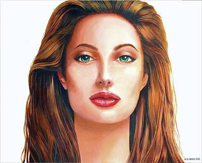 Angelina  Art Print by GG James