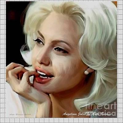Angelina Jolie Original by Ante Barisic