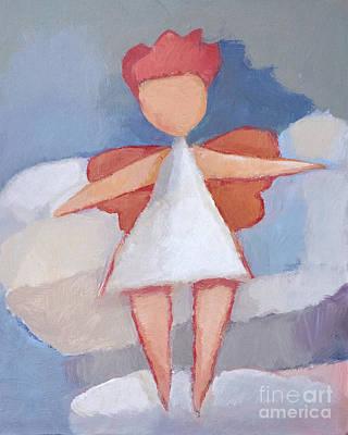 Painting - Angelino by Lutz Baar