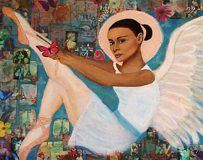 Angelique Earthangel From France Art Print