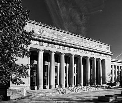 Photograph - Angell Hall - University Of Michigan by James Howe