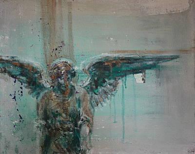Asheville Artist Painting - Angelo by Jennings Ingram