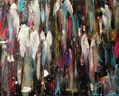 Painting - Angels Among Us by Kelly Turner