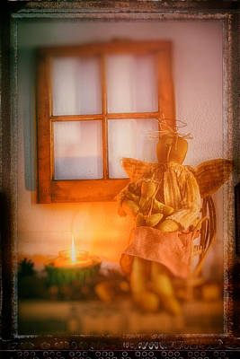 Winter Animals Rights Managed Images - Angels by the fire Royalty-Free Image by Jeff Folger