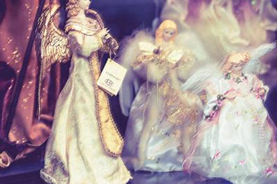 Vinatge Photograph - Angels Coming by Jenny Rainbow