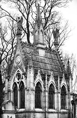 Cemeteries Of Paris Photograph - Angels In Montmartre by John Rizzuto