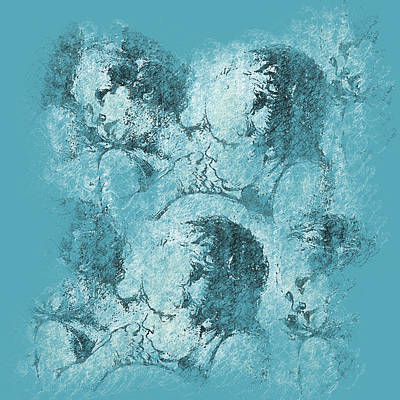 Angelic Digital Art - Angels by Jeff Burgess