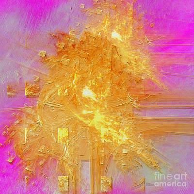 Digital Art - Angels Lights by Alexa Szlavics