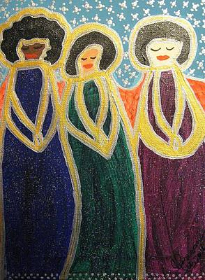 Painting - Angels Of Mercy by Clarissa Burton