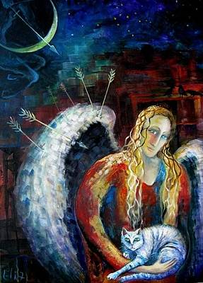 Angels Of Zodiac. Sagittarius The Archer Centaur Original