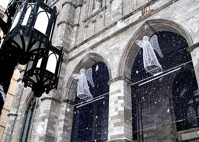 Photograph - Angels On High - Montreal by Jacqueline M Lewis
