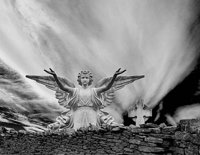 Angels Welcome Art Print by Wendell Thompson
