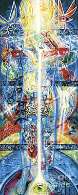 Angels Print by Yael Avi-Yonah