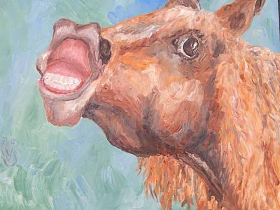 Robert Schmidt Painting - Anger Management Trainee by Robert Schmidt