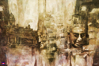 Angkor Art Print by Catf