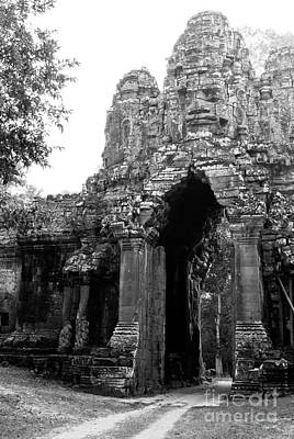 Photograph - Angkor Thom East Gate 01 by Rick Piper Photography