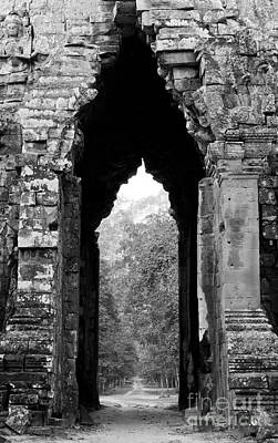 Photograph - Angkor Thom East Gate 03 by Rick Piper Photography