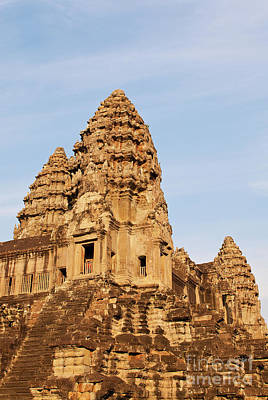 Photograph - Angkor Wat 04 by Rick Piper Photography