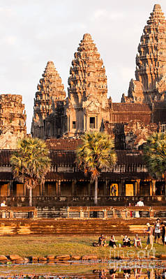 Photograph - Angkor Wat 06 by Rick Piper Photography