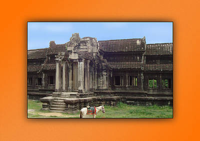 Photograph - Angkor Wat Cambodia 1 by Jeff Brunton