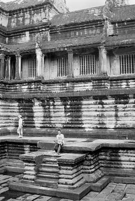Photograph - Angkor Wat Cambodia 3 by Jeff Brunton