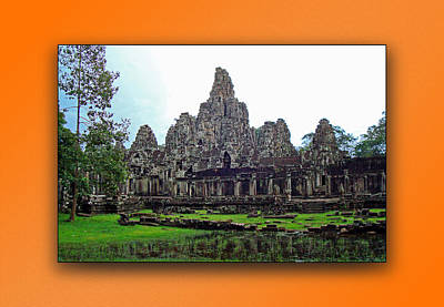 Photograph - Angkor Wat Cambodia 4 by Jeff Brunton