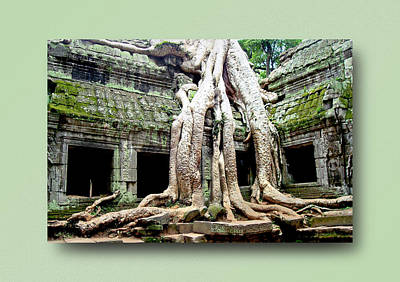 Photograph - Angkor Wat Cambodia 7 by Jeff Brunton