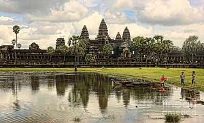 Angkor Wat I Art Print