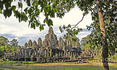 Angkor Wat No. 1 Art Print by Harold Bonacquist