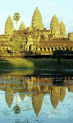 Photograph - Angkor Wat Reflections 02 by Rick Piper Photography