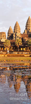 Photograph - Angkor Wat Reflections 03 by Rick Piper Photography