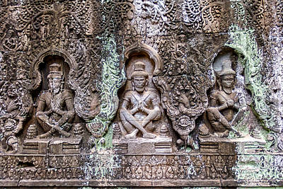 Hinduism Photograph - Angkor Wat by Stelios Kleanthous
