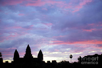 Photograph - Angkor Wat Sunrise 02 by Rick Piper Photography
