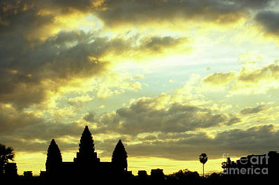 Photograph - Angkor Wat Sunrise 03 by Rick Piper Photography
