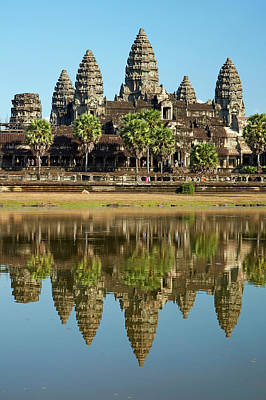 12th Century Photograph - Angkor Wat Temple Complex (12th Century by David Wall