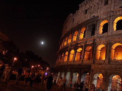 Photograph - Angled Colosseum by Alessandro Della Pietra