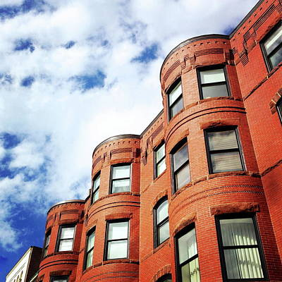 Photograph - Angled View Of Brownstone Building by Kasia Baumann