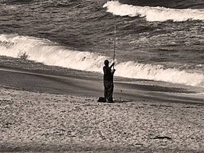 Photograph - Angler by Bob Wall