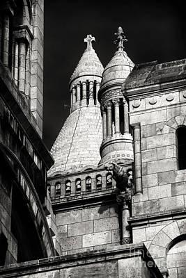 Sacre Coeur Photograph - Angles At Sacred Heart by John Rizzuto