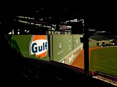 Photograph - Angles Fenway Park  by Iconic Images Art Gallery David Pucciarelli