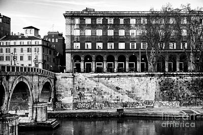 Photograph - Angles In Trastevere by John Rizzuto