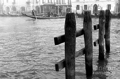 Photograph - Angles On The Grand Canal by John Rizzuto