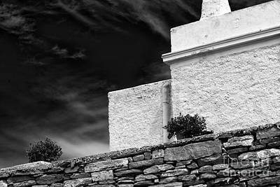 Angles On The Island Of Delos Art Print by John Rizzuto
